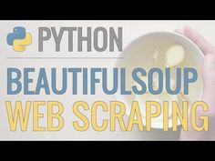 Python Tutorial: Web Scraping with BeautifulSoup and Requests - YouTube