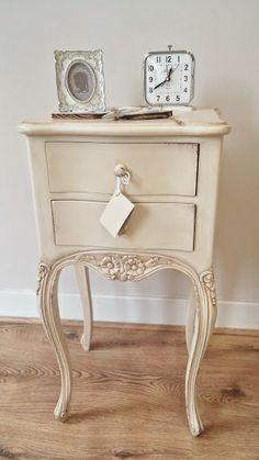 french distressed furniture. our valbonne deep cream distressed french bedside in showroom on display :)) http furniture