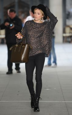 Fearne Cotton at BBC Radio 1 Studios in London - September 2014