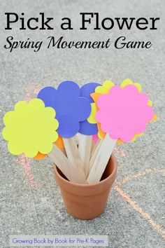 Spring Movement Games. This fun movement game is perfect for a spring theme in your preschool or kindergarten classroom. Play outdoors or inside. Practice the alphabet with movements. Your kids will beg to play this game over and over again! - Pre-K Pages - repinned by @PediaStaff – Please Visit ht.ly/63sNt for all our pediatric therapy pins