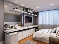 Tv In Bedroom, Master Bedroom, Bedroom Decor, Bedrooms, Savage Wallpapers, Hotel Room Design, Double Room, Suites, My House