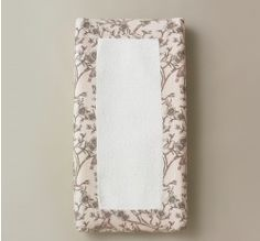 VINTAGE BLOSSOM CHANGING PAD COVER
