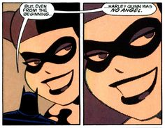 But even from the beginning, Harley Quinn was no angel...