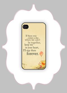 iPhone+Case+Pooh+Quote++iPhone+4/4s+iPhone+5/5s/5c+by+CalisCases,+$16.99