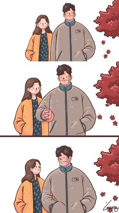 Love you is my happiness Cute Couple Comics, Cute Couple Cartoon, Couples Comics, Cute Comics, Anime Couples, Art Love Couple, Cute Couple Drawings, Anime Love Couple, Love Art