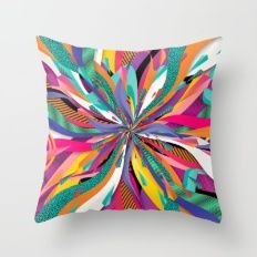 """Shop for KESS InHouse Danny Ivan """"Pop"""" Abstract Multicolor Shower Curtain - Multi - 69 x Get free delivery On EVERYTHING* Overstock - Your Online Shower Curtains & Accessories Store! Couch Pillows, Throw Pillows, Dorm Decorations, Wall Tapestry, Decor Styles, Pop Art, Pattern, Room, Stuff To Buy"""