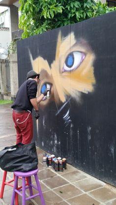 #POA #portoalegre #streetart #poastreetstyle #grafite #samsung #galaxyS5