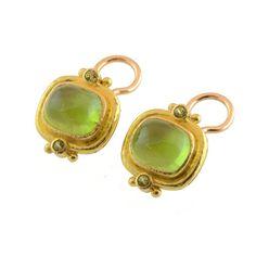 Elizabeth Locke Earrings   Peridot Earrings   Bigham Jewelers, Naples Florida Jewelers