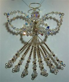 JEWELRY ORNAMENT | Swarovski Crystal Angel Ornament - Media - Jewelry Making Daily
