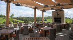 Virginia's vineyards are beautiful, especially this time of year when the vines are heavy with luscious grapes. Savor the view while you also savor the vintage at these wineries boasting impeccable views. Their patios and decks are perfect for summer evening unwinding.