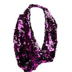 I love the Betsey Johnson Sequin Loop Neckwrap from LittleBlackBag