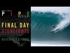 Day 3 Highlights - Billabong Pipe Masters The boys got some amazing tubes!