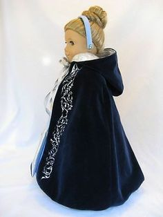 Ooak Cinderella Masquerade For American Girl Isabelle, Caroline, Marie-grace, Ce