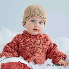 Мобильный LiveInternet Двубортное пальтишко и шапочка для малыша.   elenaslava - Дневник копилочка Еленаславы  