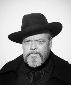 """""""Orson Welles is a kind of giant with the look of a..."""