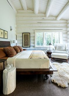 Log cabin is perfect for vacation homes by Log Cabin Homes Modern Design Ideas, second homes, or those who want to downsize into a smaller log home. Log cabin dimensions for Log Cabin Homes Modern Design Ideas of cheap and… Continue Reading → Log Cabin Exterior, Log Cabin Homes, Log Cabin Living, Cottage Homes, Cabin Interior Design, Cabin Design, Modern Cabin Interior, Modern Cabin Decor, Modern Rustic