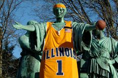 Dressed up for the 2005 NCAA Championship game