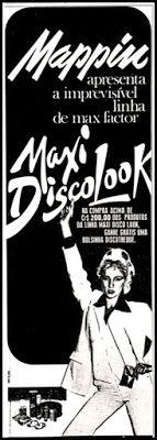 Anúncio Max Factor - 1978