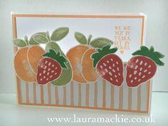 Stampin' Up! UK Demonstrator Laura Mackie: Stampin' Up! Fresh Fruit