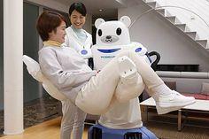 理研、クマ型の介護ロボットROBEARを発表。柔らかな抱っこや移乗に対応 - Engadget Japanese