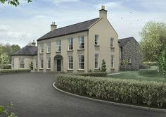 House Plans N Ireland New Plans for Small Houses In Ireland Home Design and Style – Home Plan And Design House Designs Ireland, Houses In Ireland, Ireland Homes, Dream House Exterior, Dream House Plans, Architectural Services, Georgian Homes, House Extensions, Future House