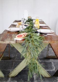 DIY Greenery Table G