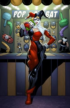 Harley Quinn by Sean Ellery, pencils and inks by D Alexis St.Pierre | Illustration | 2D | CGSociety
