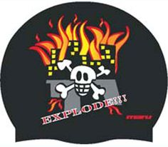 Explode Swimming Cap