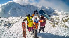 #gopro #snowboarding