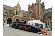 Bloodhound SSC at Clifton College Classic Car Wheeze (1)