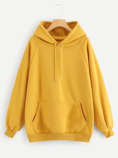 To find out about the Raglan Sleeve Kangaroo Pocket Hoodie at SHEIN, part of our latest Sweatshirts ready to shop online today! Sweat Shirt, Cropped Hoodie, Blue Hoodie, Camo Print, Pulls, Types Of Sleeves, Casual Outfits, Hoodies, Hoodie Sweatshirts