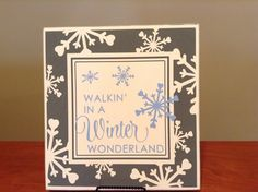 Christmas/winter 12x12 sign