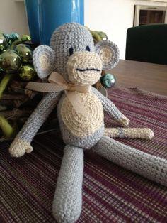 Häkel-Äffchen Teddy Bear, Toys, Crochet, Animals, Inspiration, Diy Home Crafts, Activity Toys, Biblical Inspiration, Animales