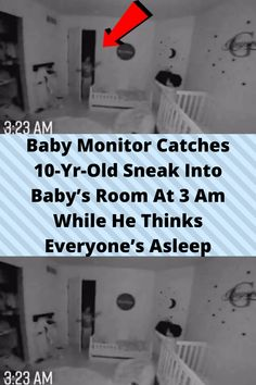 #Baby Monitor #Catches 10-Yr-Old Sneak Into #Baby's Room At 3 Am #While He Thinks Everyone's #Asleep Aesthetic Indie, Quote Aesthetic, Baby Monitor, Funny Prank Videos, Funny Memes, Orange Eye Makeup, Bts Shirt, Bling Wallpaper, Cute Funny Babies