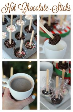 Make Hot Chocolate Sticks to Melt in a Cup of Milk Hot Chocolate Sticks: melt in a cup of hot milk for a delicious cup of rich hot chocolate! Chocoley Chocolate The post Make Hot Chocolate Sticks to Melt in a Cup of Milk appeared first on Getränk. Homemade Christmas Gifts, Christmas Goodies, Christmas Desserts, Christmas Baking, Holiday Treats, Holiday Recipes, Christmas Treats For Gifts, Christmas Cup, Party Treats