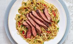 As shown on her BBC 2 TV series, Quick Cooking, Mary Berry's Asian beef and red pepper stir-fry is packed with delicious flavours and is brilliantly simple to make. This recipe is ideal for a speedy weeknight supper or as a takeaway alternative. Stir Fry Recipes, Steak Recipes, New Recipes, Cooking Recipes, Chicken Recipes, Recipies, Mary Berry Banana Loaf, Asian Beef, Sweet Chilli Sauce