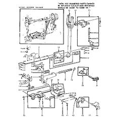 kenmore sewing machine parts diagram