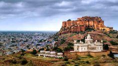 Mehrangarh Fort, Jodhpur - Rajasthan is a road tripper's delight!