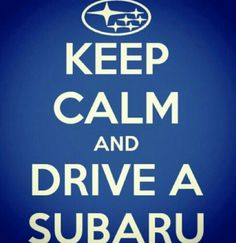 Keep calm and drive a Subaru. You choose which model - the Impreza, WRX, STI, BRZ, Legacy, Outback, Forester or Tribeca. Find a great deal on any of these new Subaru vehicles at Moore Auto Group now through April 1 at our Subaru Love Spring Event.