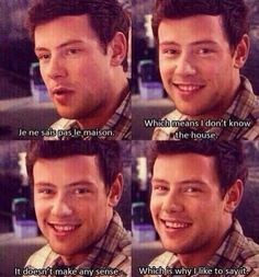 Cory Monteith…i miss him so much...