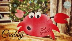 Don't be Crabby DIY Card - Crab card!