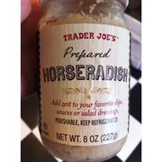 Trader Joe's Prepared Horseradish | 10 mg sodium per tsp.-check label to see if any animal products