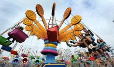 State Fair Rides | Florida State Fair | Carnival Rides | Photo Inspiration | Colorful Photography