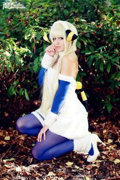 Pin by jenny wood on cosplay mareep pinterest cosplay - Pokemon wattouat ...
