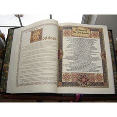 Original Wiccan Book of Shadows Content- can use as a reference for what to include in a handwritten BOS