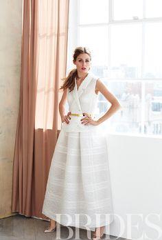 Olivia Palermo de noiva na revista Brides - Constance Zahn   Casamentos