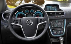 Buick Encore 2013 (Dashboard), one of the best, coolest and cheapest luxury SUV for under $25000!