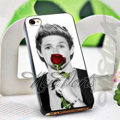Niall Horan with rose  iPhone 4/4s/5/5s/5c Case  by 1newport, $14.75