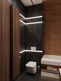 35 Deluxe Interior Design Ideas With Wood Slat Walls Home Room Design, Dream Home Design, Bathroom Interior Design, Modern Interior Design, Interior Decorating, House Design, Wood Slat Wall, Wood Slats, Art Deco