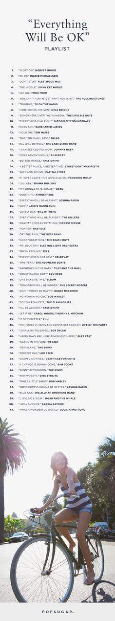"61 Song-""Perk Up!"" playlist"